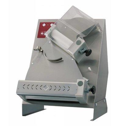 Diamond Teigausrollmaschine | 2 Rollen | Ø320mm | 430x500x(h)630mm
