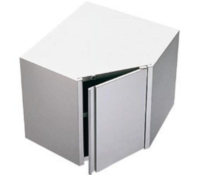 Diamond Eckschränke   Klapptür   700x700x(h)600mm
