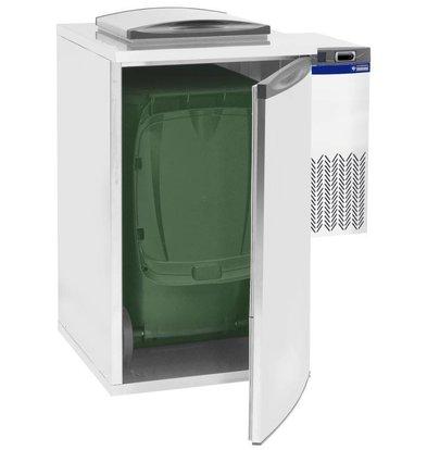 Diamond Gekühlter Abfallbehälter | Einzel | 730x870x(h)1290mm