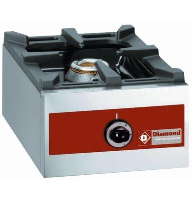 Diamond Gasherd | 1 Brenner | Tischmodel | 7kW |360x480x(h)260mm