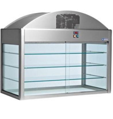 Diamond Kühlvitrine | mit Bodendämmung | 1,2kW | 1410x730x(h)1150mm