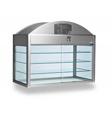 Diamond Neutrale Vitrine | mit Bodendämmung | 0,1 kW | 1410x730x(h)1150mm