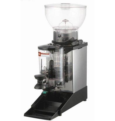 Diamond Kaffeemühle mit Dosierer   Inhalt 1 kg   0,3kW   180x310x(h)560mm