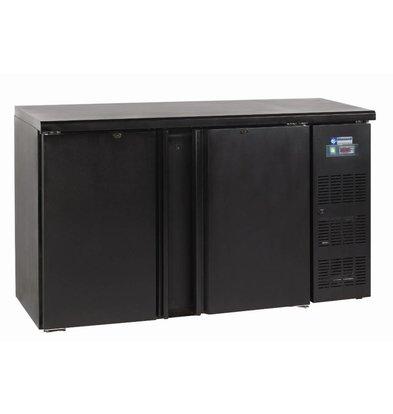 Diamond Getränkekühlschrank | 2 Türen | 375 Liter | 1462x513x(h)890-905mm