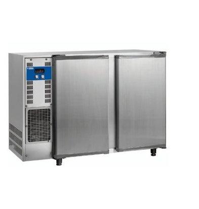 Diamond Getränkekühlschrank | 2 Türen | Edelstahl | 375 Liter | 1455x565x(h)890-905mm