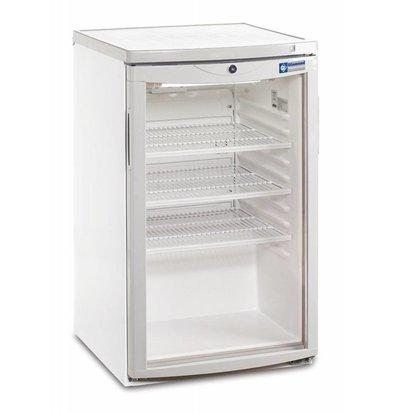 Diamond Kühlschrank | 150 Liter | 1 Glastür | 500x560x(h)850mm