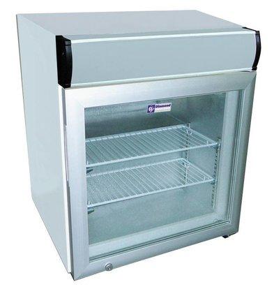 Diamond Tiefkühlschrank | 50 Liter | 2 Roste | Beleuchtung | 570x530x(h)650mm