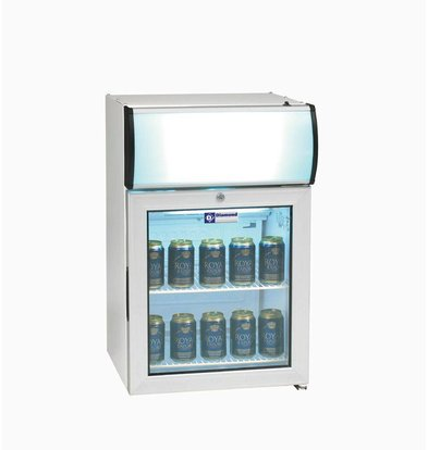 Diamond Kühlschrank | 60 Liter | 2 Roste | Beleuchtung | 480x450x(h)720mm
