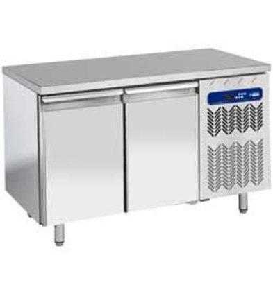 Diamond Tiefkühltisch | 2 Türen | Temperatur: -10°C-20°C | 1514x800x(h)880-900mm