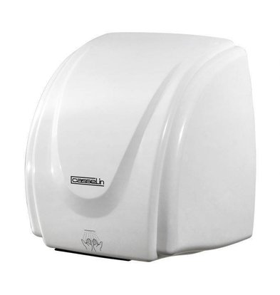 Casselin Händetrockner BASIC | Kunststoff Weiß | 15-20 Sekunden | 2100W