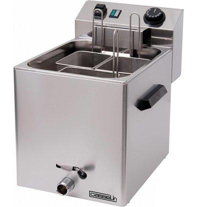 Casselin Elektro-Nudelkocher mit Auslaufhahn | 230V-3400W | 270x420x(h)300mm