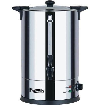 Casselin Heißwasserspender Doppelwandig | Non-drip Hahn | 10 Liter | Ø225x(h)470mm