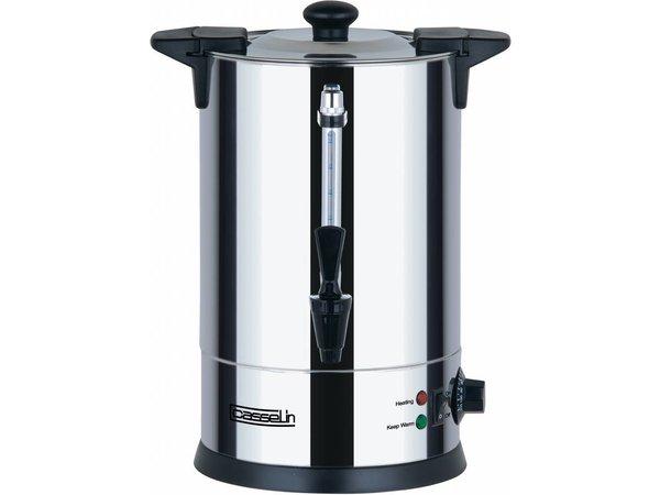 Casselin Heißwasserspender Doppelwandig | Non-drip Hahn | 6,8 Liter | Ø225x(h)395mm