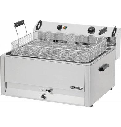 Casselin Bäckerei- Fischfriteuse  | 30 liter | 400V-15kW | 670x650x(h)370mm