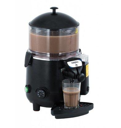 Casselin Kakaodispenser Schwarz | 5 Liter | 230V-1006W | 410x280x(h)4600mm