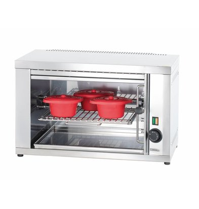 Casselin Salamander PM | Grillrost verstellbar | 230V-2200W | 365x300x(h)375mm