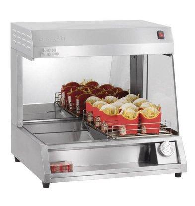 Casselin Pommes-Wärmer Unit | 7 Ablagen | 230V-1kW | 680x600x(h)665mm