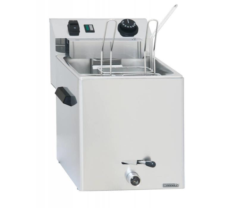 Casselin Elektro Nudelkocher   mit Auslaufhahn   230V-3400W   270x420x(h)300mm   Erhältlich in 2 Ausführungen