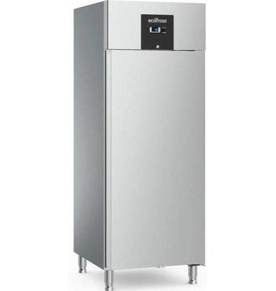 Ecofrost Edelstahl Kühlschrank | 650 Liter | HEAVY DUTY | 740x830x(h)2010mm