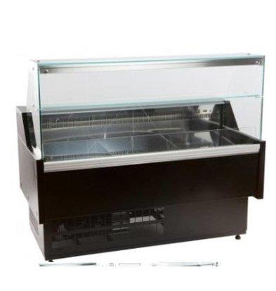 Combisteel Kühltheke Morris | +1/ +10°C | Mit Beleuchtung | Erhältlich in 4 Größen