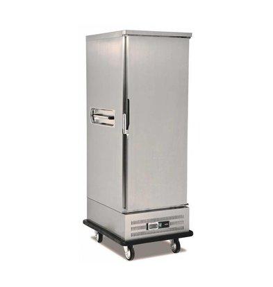 Combisteel Mobiler Bäckereikühler Edelstahl | 11x 2/1GN | 0/+5°C | 720x885x(h)1830mm