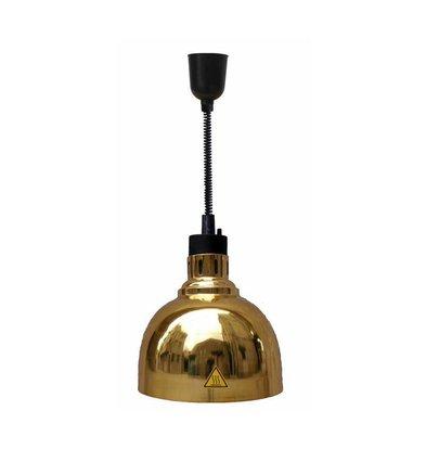 Combisteel Wärmelampe Gold | Kabel Verstellbar | Ø240x(h)600/1800mm