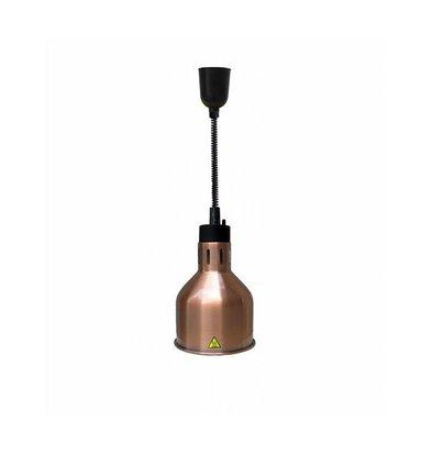 Combisteel Wärmelampe Bronze | Kabel verstellbar | Ø175x(h)600/1800mm