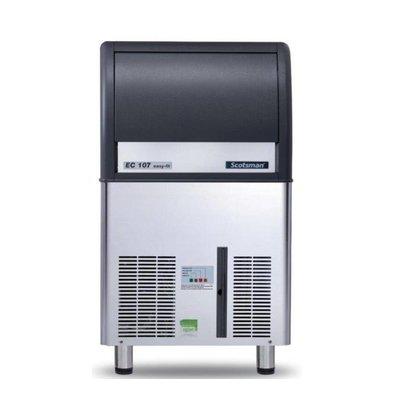 Scotsman Eiswürfelbereiter EC 107 AS | Gourmet Eiswürfel | 53kg/24St | 23Kg Speicher | 531x600x(h)930mm | Mit oder ohne Ablaufpumpe lieferbar