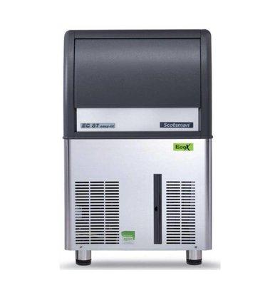 Scotsman Eiswürfelbereiter EC 87 AS | Gourmet Eiswürfel | 45kg/24St | 19Kg Speicher | 531x600x(h)875mm | Mit oder ohne Ablaufpumpe lieferbar