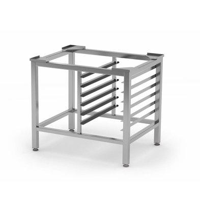 XXLselect Edelstahl Untergestell HEAVY DUTY | 6x 1/1GN | 790x600x700mm