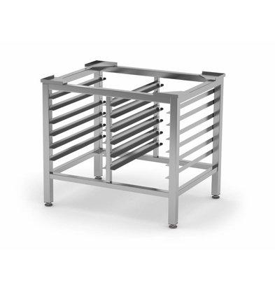 XXLselect Edelstahl Untergestell HEAVY DUTY | 2x6  1/1GN | 790x600x700mm