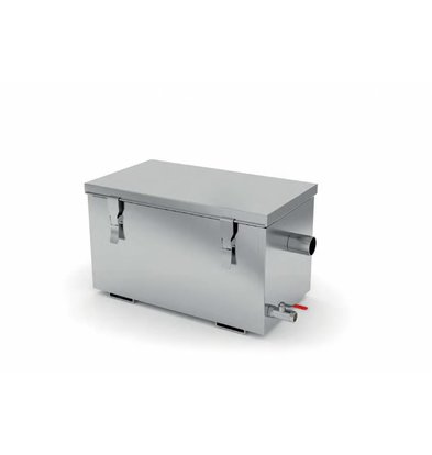 XXLselect Fettabscheider Edelstahl | AISI 304 Qualität | Erhältlich in 3 Größen