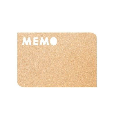 Securit Kork Silhouette MEMO | Inkl. Kreidestift-Klebeband-Reißnägel | 300x450mm