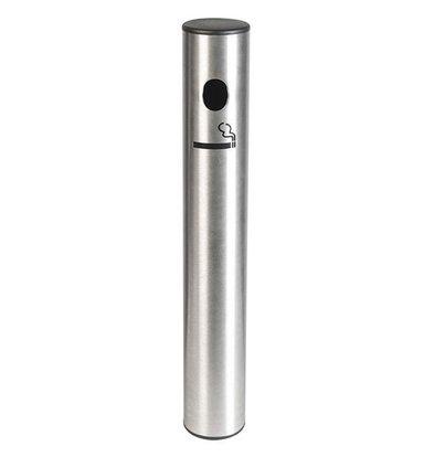 Securit Edelstahl Ascher | Wandmodell LUXE | 408X58mm
