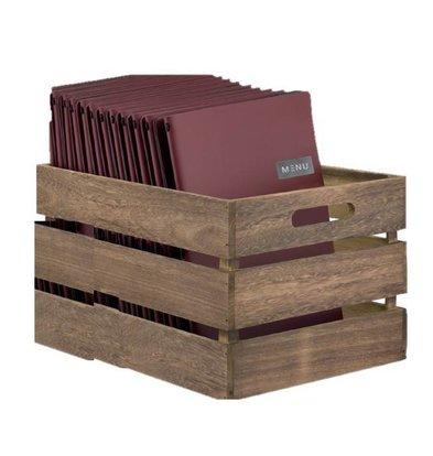 Securit Holzkiste | Zerlegt! | 210x330x242mm