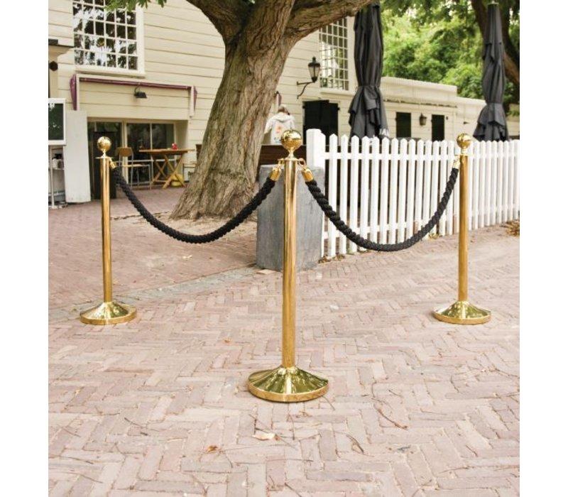 Securit Absperrkordel Chrom Satin Bronze | 1.5 meter | DELUXE