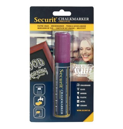 Securit Large Kreidemarker 7/15mm | Violett