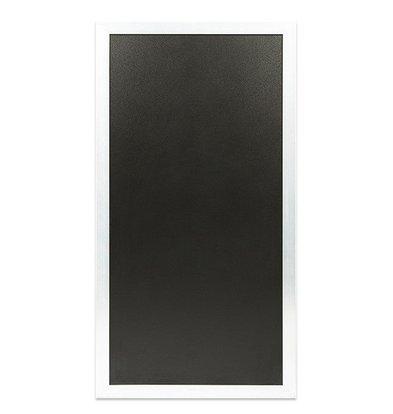 Securit Multifunktionelle Kreidetafel Weiß | 550x(h)1150mm