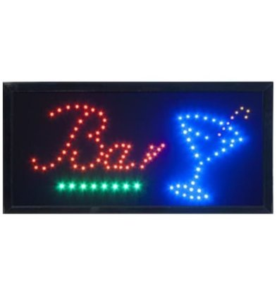 Securit LED Anzeige BAR | 480x240x20mm
