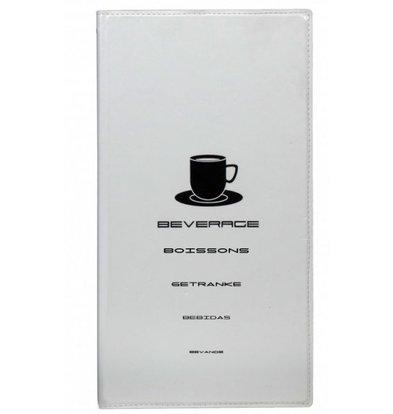 Securit Getränkekarte Design | Weiß A4