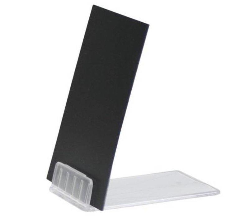 Securit Acrylständer für Kreidetafel Pricetags (exkl.) | 10 Stück