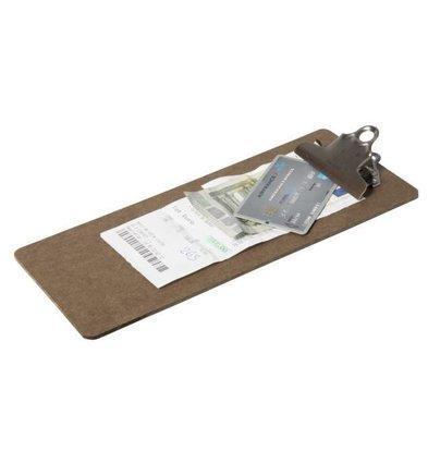 Securit Klemmbrett für Rechnungen | 265x115x30mm