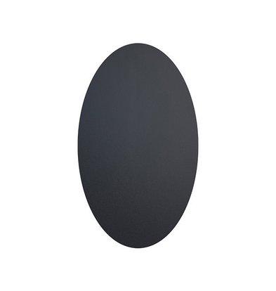Securit Selbstklebende Kreidetafel Etiketten | Oval 85x50mm | 8 Stück