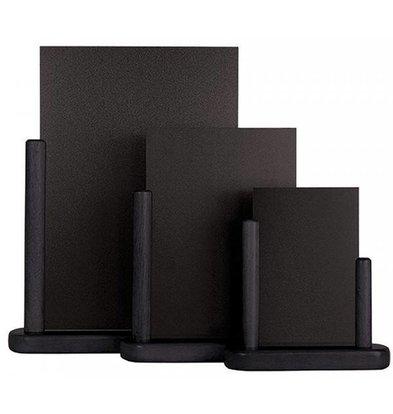 Securit Tisch Kreidetafel Elegant Schwarz | Erhältlich in 3 Größen