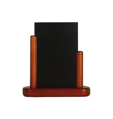 Securit Tisch Kreidetafel Elegant Mahony | Erhältlich in 3 Größen