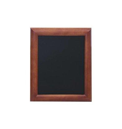 Securit Wand Kreidetafel Dunkelbraun | Erhältlich in 5 Größen