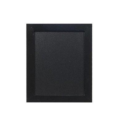 Securit Wand Kreidetafel Woody | Schwarz | Erhältlich in 5 Größen