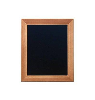 Securit Wand Kreidetafel Woody | Teak | Erhältlich in 5 Größen