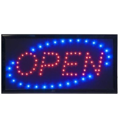 Securit LED Anzeige OPEN | 480x240x20mm