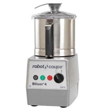 Robot Coupe Blixer 4 | Robot Coupe | 4,5 Liter | 900W/400V | 2 Geschwindigkeiten: 1500/3000 UpM